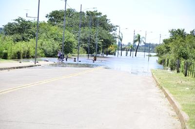 La Costanera Norte en el primer punto que ha sido cortado el tránsito