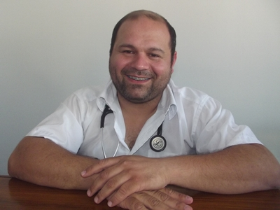 Con el  Dr. Sergio  Bruzzoni