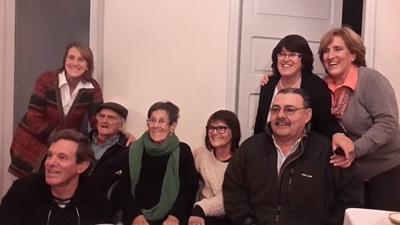 Familia Menoni y otros familiares