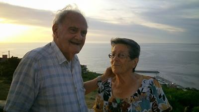 Orlando (98) y Ruba (93), llevan 67 años de casados