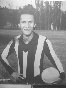 <p>Pedro Virgilio en su juventud como jugador</p>