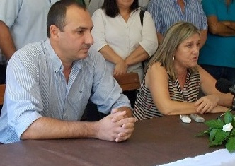 Carlos Albisu y Lucía Minutti