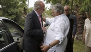 Mujica recibió al exrey en su chacra