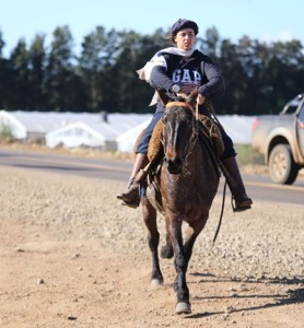 La Escondida 27 de cabaña Don Salvador con Mercedes Paiva llegó ayer en primer lugar