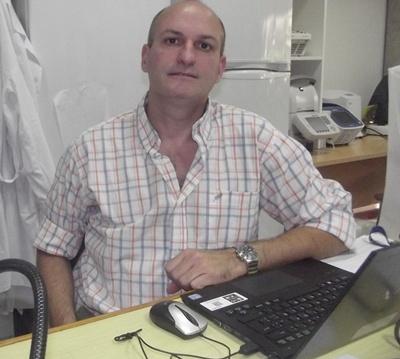 Con el Dr. José M. Venzal