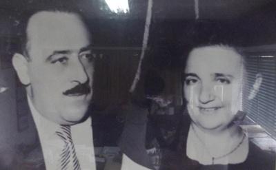 Francisco Caputto y su esposa  Filomena