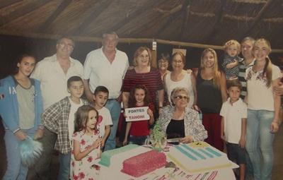 La familia Fontes reunida
