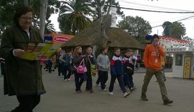 Alrededor de 80 escuelas visitan a diario la Expo Prado
