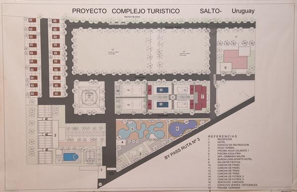 El plano del proyecto