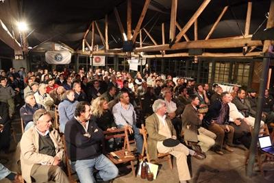 Público presente el jueves en Haras de Salto