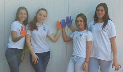 Las cuatro impulsoras del proyecto de interés social para la Villa