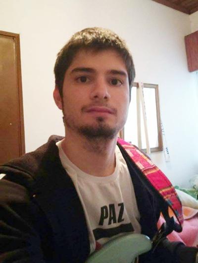 Con Joaquín Landoni de Souza: estudiante  del CeRP comprometido con la causa gremial
