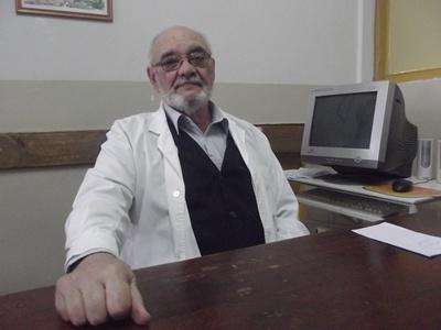 Con el Dr. Adalberto Piedrabuena. Médico  Intensivista. Especialista en Soporte Nutricional
