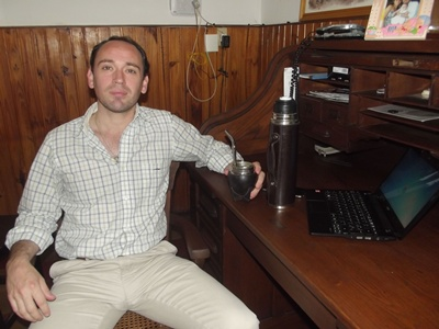 Con el Médico Cirujano: Jorge Blanco