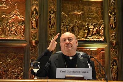 Cardenal Gianfranco Ravasi, enviado especial del vaticano