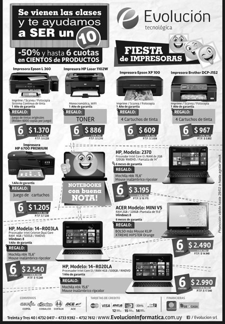 EVOLUCION Pag diario GRIS