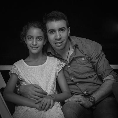 Franco Presentado Galeano junto a su hija Julieta