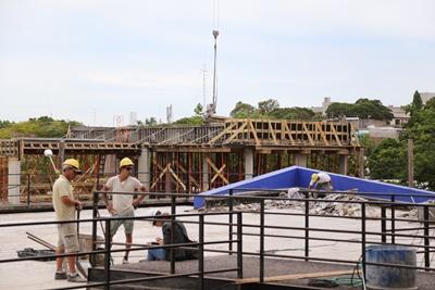 La ampliación de la R.N. sede Salto sigue tomando forma