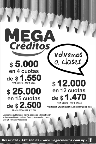 MEGACREDITOS SUPLEMENTO EDUCACION