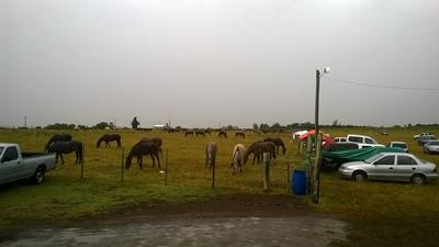 La lluvia amenazó la realización de la actividad ayer