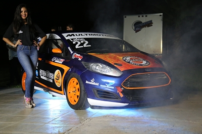 El Ford Fiesta Kinetic de André Lafón listo para el inicio de la temporada del Superturismo