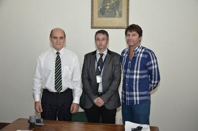 Carlos Rey, Diego Juanicotenea y Andrés Méndez