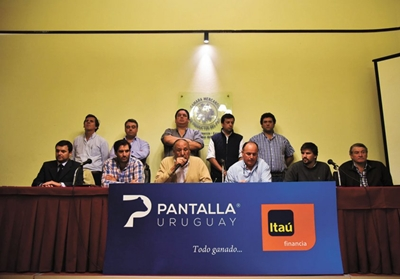 Integrantes del Consorcio Pantalla Uruguay