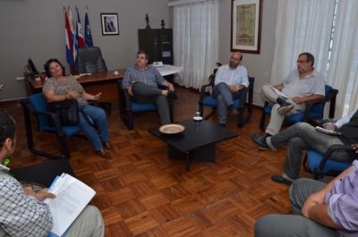La presidenta de MEVIR mantuvo una reunión con Gerarcas de la Intendencia
