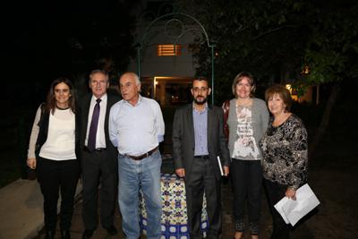 Dra. Verónica Orihuela, Dr. Carlos Orihuela, Dr. Jorge Rodríguez Russo, Dra. Esther María Arís, Dr. Fulvio Gutiérrez, Prof. Liliana Forti.