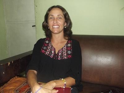 Con la Dra. María Paula Tassani