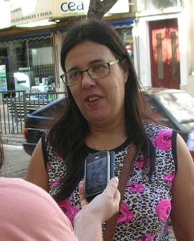 Susana, Enfermera, vive en la zona del Ceibal