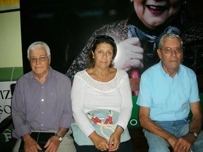 Ubirayara Texeira; Miriam Leal y Mauro Alves da Silva en EL PUEBLO