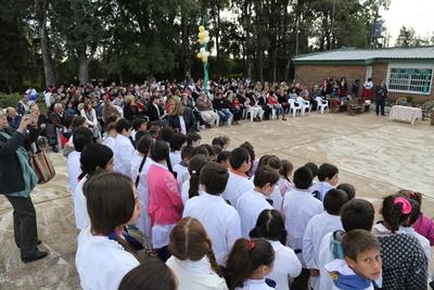 Un momento de la ceremonia