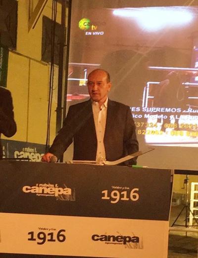 Francisco Cánepa compartió las ventas con Valdez y Cía.