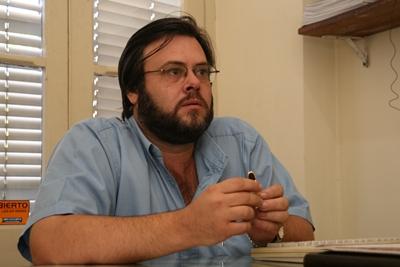 Con su Director: Dr. Juan Pablo Cesio.