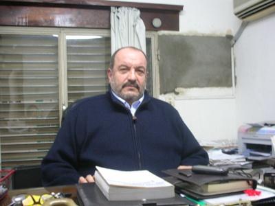 Con el Dr. Joaquín Silva