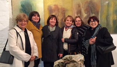 Stella Invernizzi Silvya Luccini Ramos,Ana Luisa Testa Venturini, Jacqueline Igari, Adriana Chaibún,Teresa Correa Butrico.
