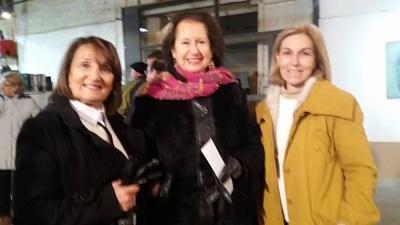 Susana Canela, Graciela Forti y María Ambrosoni