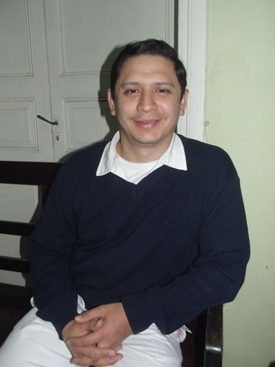 Con el Dr. Daniel Barboza. Medicina General