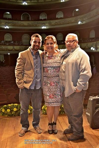 Ramiro Bernaola, Gloria Marquéz, Andrés Bernaola
