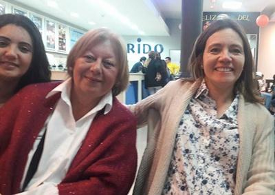 Wanda, Gladys y Carola