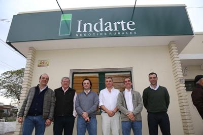 Gonzalo Indarte, Denis Capdevielle, Fernando Indarte, Diego Henderson, Ramiro Miranda y José A. Martínez