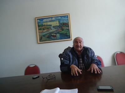 Cr. Eramburio de Oliveira, actual presidente de Casa de Salto