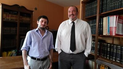 Doctores Darío Menoni y Joaquín Silva