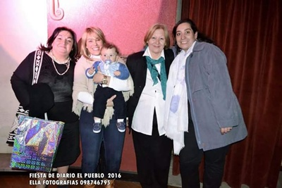 Adriana Martínez, Lucía Molinari, Ignacio Baez, Gladys Vlaenmink y Carolina Miños