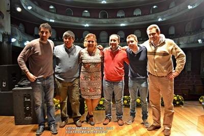 Fabricio Trincavelli, Roberto Taboada, Gloria Marquez, Eduardo Lagos,Bruno Ferrari y  Juan Osorio