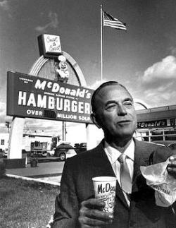 Ray Kroc, de McDonald