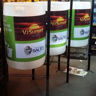 Tachos recolectores de residuos optimizan el orden y la higiene en el local