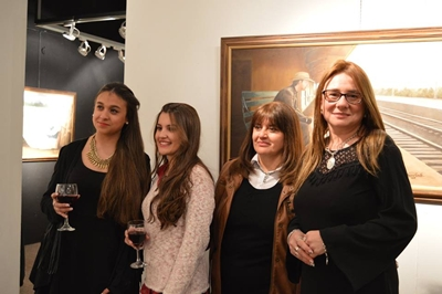 Florencia Román, Pituu Menoni Miriam de Paula e Ivonne Bruno