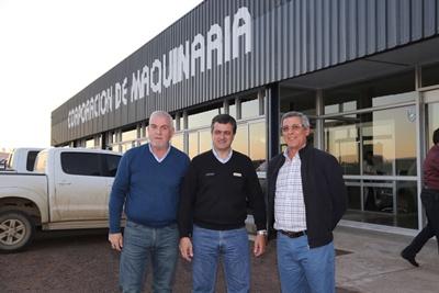 Ramón Erro, Alejandro Villanueva y Mauricio Martínez